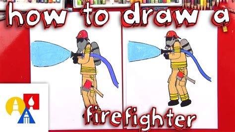draw  firefighter youtube