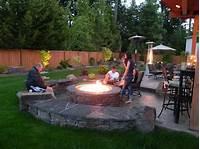 inspiring patio design fire pit ideas Inspiration for Backyard Fire Pit Designs | Outdoor | Pinterest | Chicago, Backyard and Patios