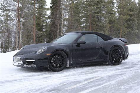 Porsche Novita 2019 by Next 2019 Porsche 911 Cabriolet Gtspirit