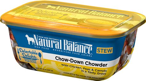 natural balance delectable delights chow  chowder stew