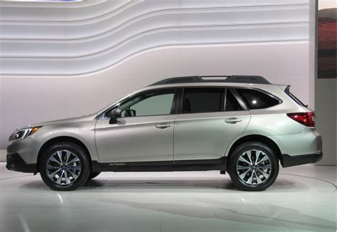 Outback News by 2015 Subaru Outback 2014 New York Auto Show Live Photos