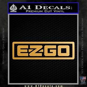 Forever 21 Chart Size Ez Go Golf Car Cart Decal Sticker Logo A1 Decals