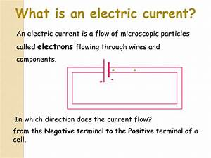 Electrical Current And Charge Lesson By Avitals1