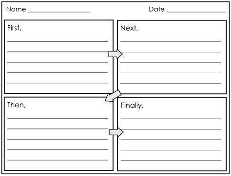 four square writing template four square writing template calendar templates