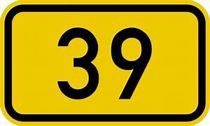 File:Bundesstraße 39 number.svg