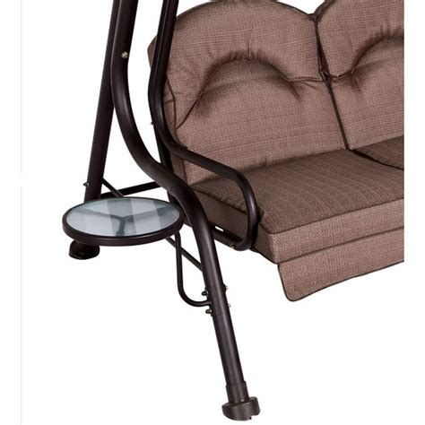 replacement canopy  living accents  person deluxe swing garden winds