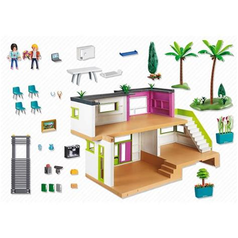 playmobil cuisine moderne playmobil modern luxury mansion 5574 ebay