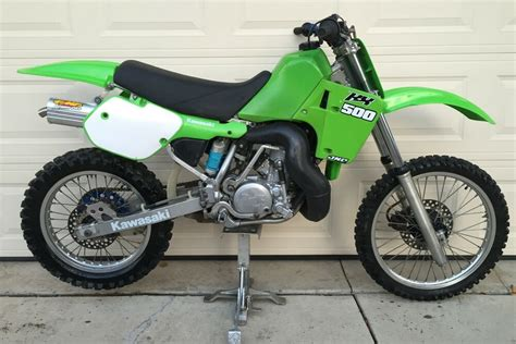 1987 Kawasaki Kx 500 Dirt Bike Motorcycle Motocross