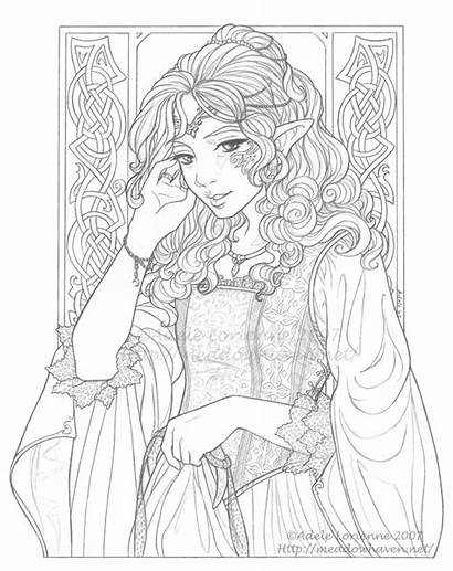 Coloring Pages Coloriage Adults Adulte Adult Lineart