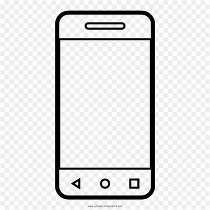 Colorare Smartphone Telefono Disegno Telephone Phone Drawing