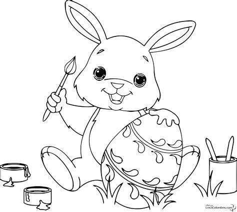 dessins de coloriage lapin en ligne  imprimer