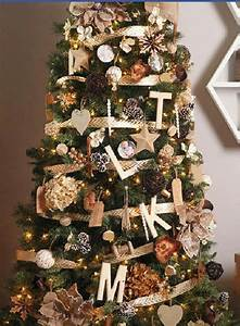 Gold, Bronze, And, Khaki, Christmas, Tree, Pic, Only