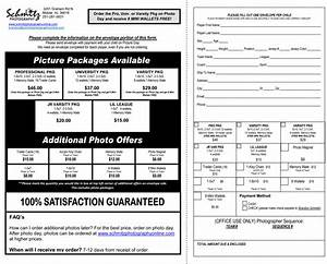 photography order form template how to make an order form With youth sports photography templates