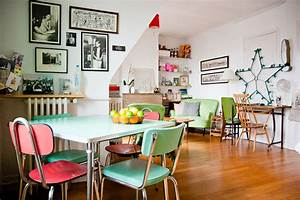 Objet Vintage Deco : d corer un salon s m avec plancheret hauts plafonds ~ Teatrodelosmanantiales.com Idées de Décoration