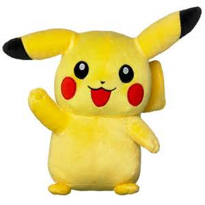 pokemon 8 plush pikachu
