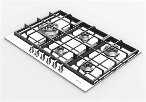 piani cottura smeg 5 fuochi elettrodomestici 3d piano cottura a gas con 5 fuochi