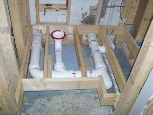 how to install a toilet in a basement e1367154524642 tips With how to add plumbing for a new bathroom