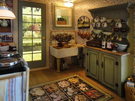 pats miniatures stone cottage