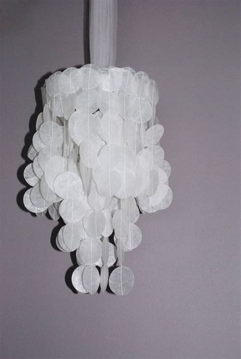 How To Make A Chandelier Out Of Paper by 25 Creative Diy Chandeliers Made Out Of Paper
