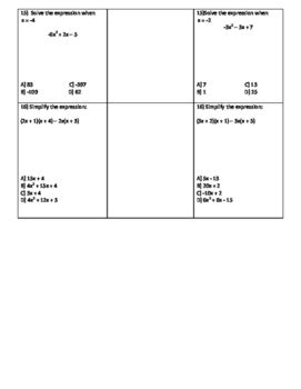 naming polynomials partner worksheet by mrs owen tpt