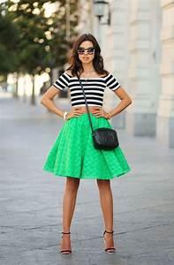 Green Skirt Outfits 2018   FashionTasty.com