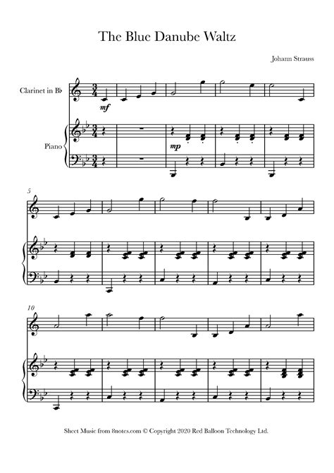 For over 20 years we have provided legal access to free sheet music. 14 Easy Clarinet Solos That Sound Amazing (with links to our free sheet music) - 8notes.com