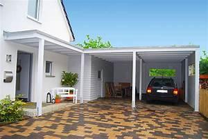Haus Mit Doppelcarport : carport mit dem hauseingang kombinieren im ratgeber auf ~ Articles-book.com Haus und Dekorationen