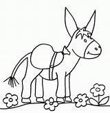 Coloriage Ane Mule Imprimer Dessin Colorier Template Dessins Coloring Pages Dessiner sketch template
