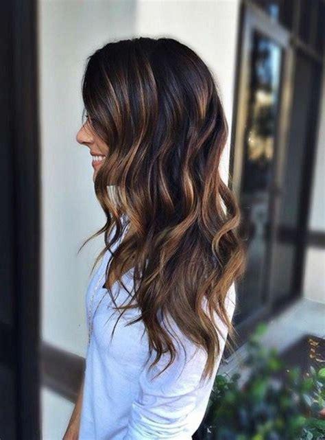 Le marron glacu00e9  Du00e9couvrez la couleur de cheveux tendance 2017 en 77 photo