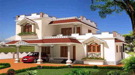 Home Interior Design India Youtube : House Exterior Design Pictures In India