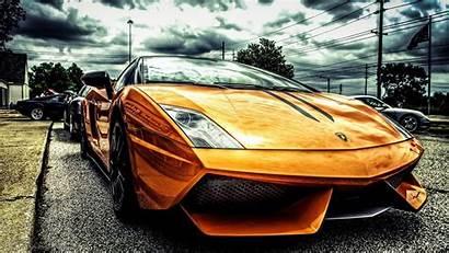 Lamborghini Coolest Cool Gold Cars Wallpapers Tron