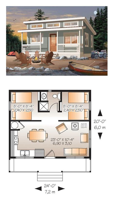 2 bedroom small house plans best 20 tiny house plans ideas on small home