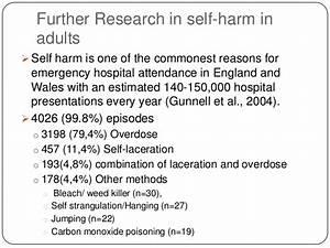 self harm personal essay