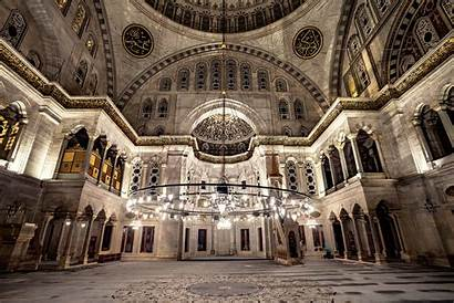 Famous Architectural Interior Mosque Shutterstock Istanbul Baroque