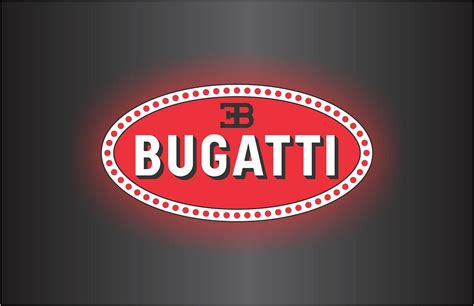 Bugati Logo by Bugatti Veyron Logo