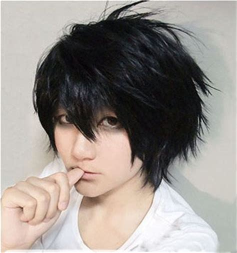 lawliet hairstyle new arrival note l lawliet