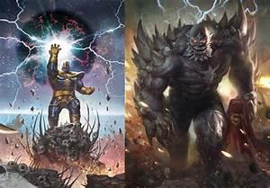 Thanos and Doomsday vs. Darkseid and Juggernaut - Battles ...
