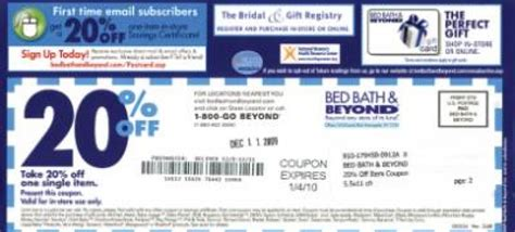 Bed Bath & Beyond Eliminating Coupons?