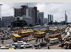 An area in Lagos State, Nigeria in 1980's An area in