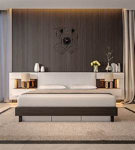 Modern, Bedroom, Ideas, With, Wooden, Scheme, Design, Bring, Out, A