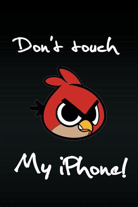 Phone lockscreen wallpaper for you. Wallpaper Don't Touch My Phone - WallpaperSafari