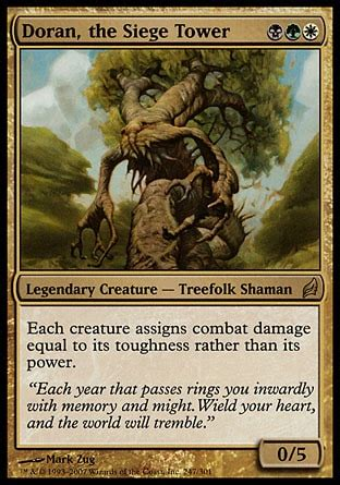 Mtg Treefolk Deck Edh by Quot Casually Competitive Quot Doran The Siege Tower