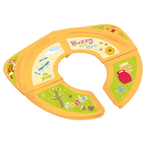 The Folding Potty Seat by Winnie The Pooh Potty Travel Folding Potty Seat Potty
