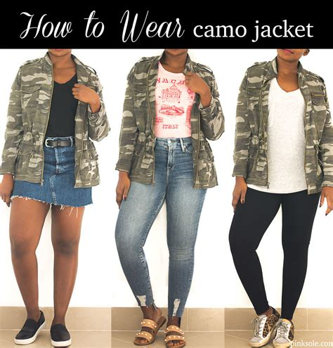How to wear a camo jacket camouflage jacket outfit ideas