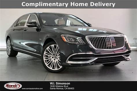Sedan, coupe and convertible body styles. Used 2020 Mercedes-Benz S-Class Maybach S 650 Sedan RWD ...