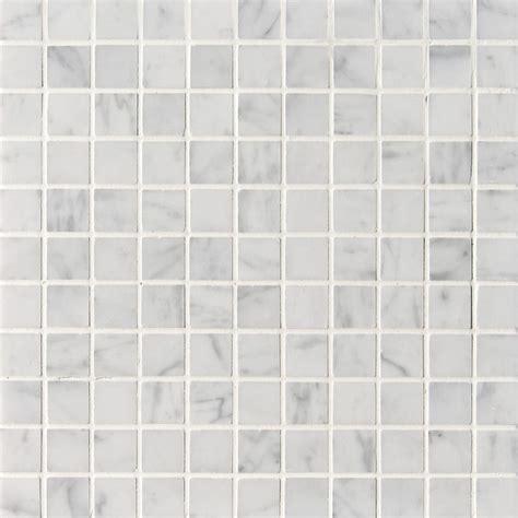 white mosaic tile white carrara c honed 1x1 marble mosaics 12x12 marble