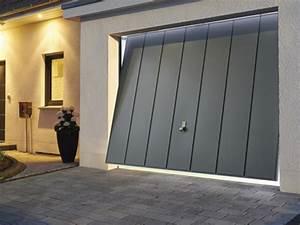 Porte Interieur Grise : pour une maison neuve la porte de garage basculante est ~ Mglfilm.com Idées de Décoration