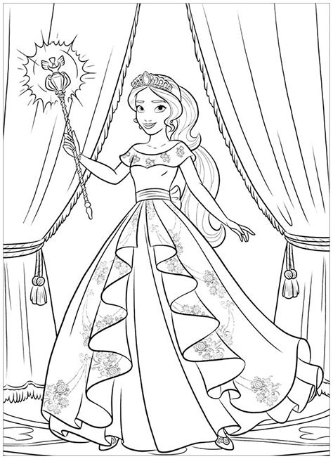 color pages of avalor coloring pages best coloring pages for