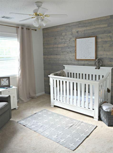Kinderzimmer Wand Ideen Junge by Rustic Boy Nursery Woodsy Outdoor Themed Nursery