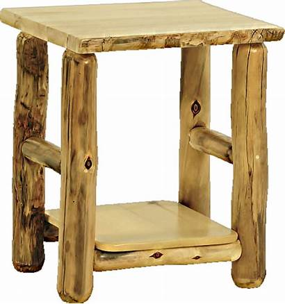 Rustic Table Arts Side Furniture Mountain Woods